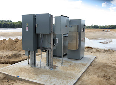 Street enclosure for VFD's and controls